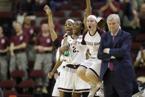 Arkansas Texas A M NCAA Womens Basketball